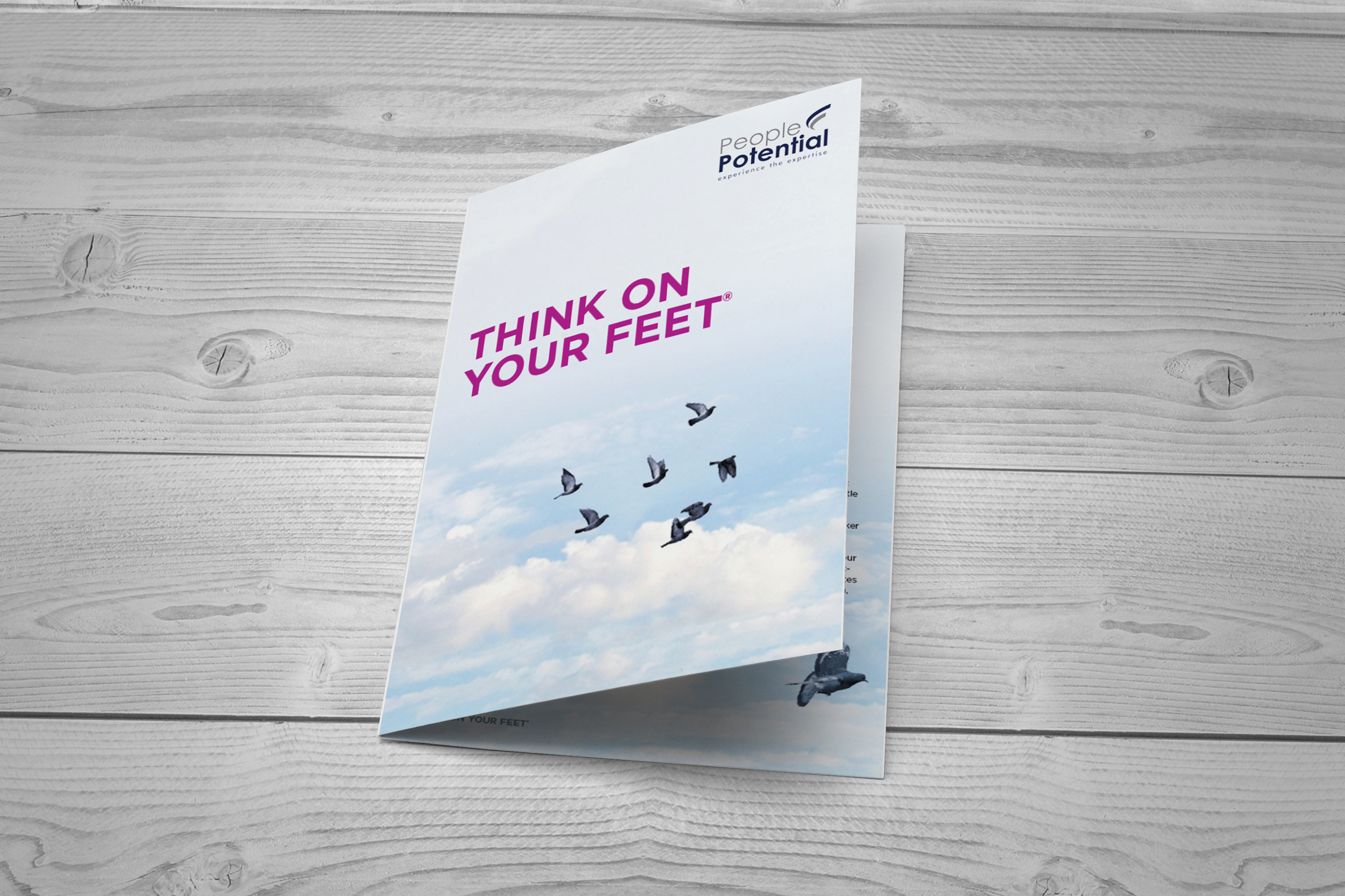 Corporate Booklet for PeoplePotential