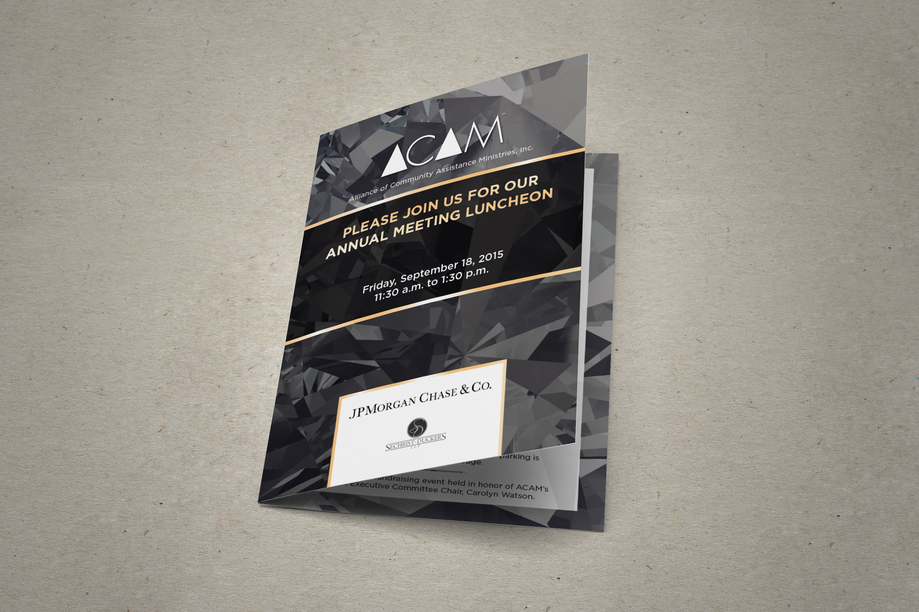 ACAM Invitation Booklet