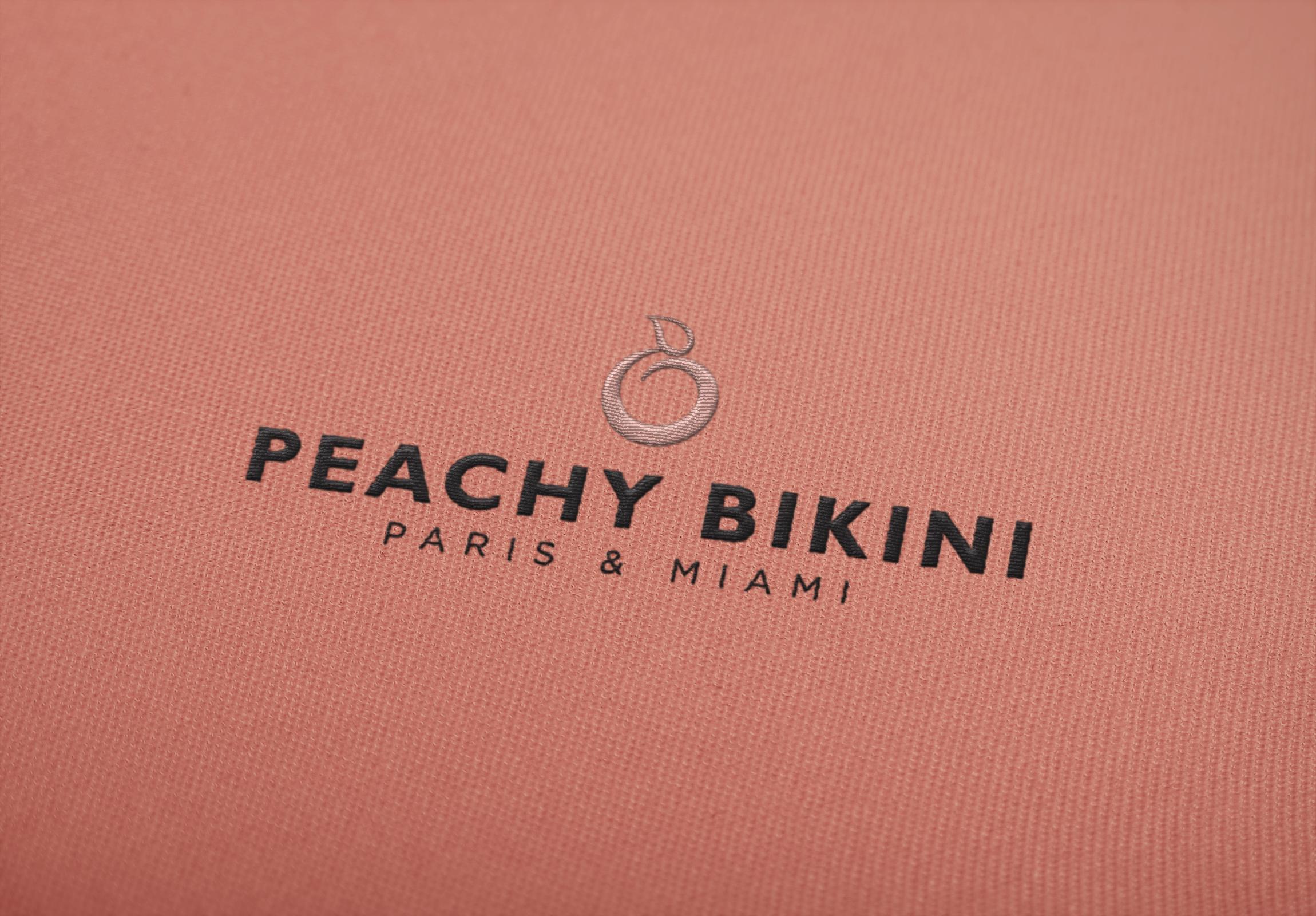 Peachy Bikini Logo