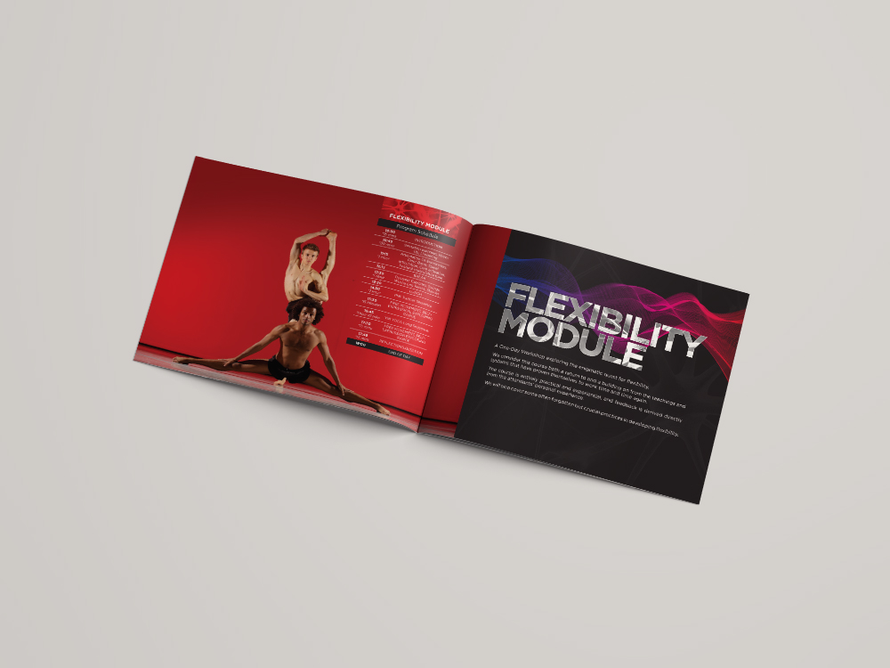 Brochure Design for Dance Studio